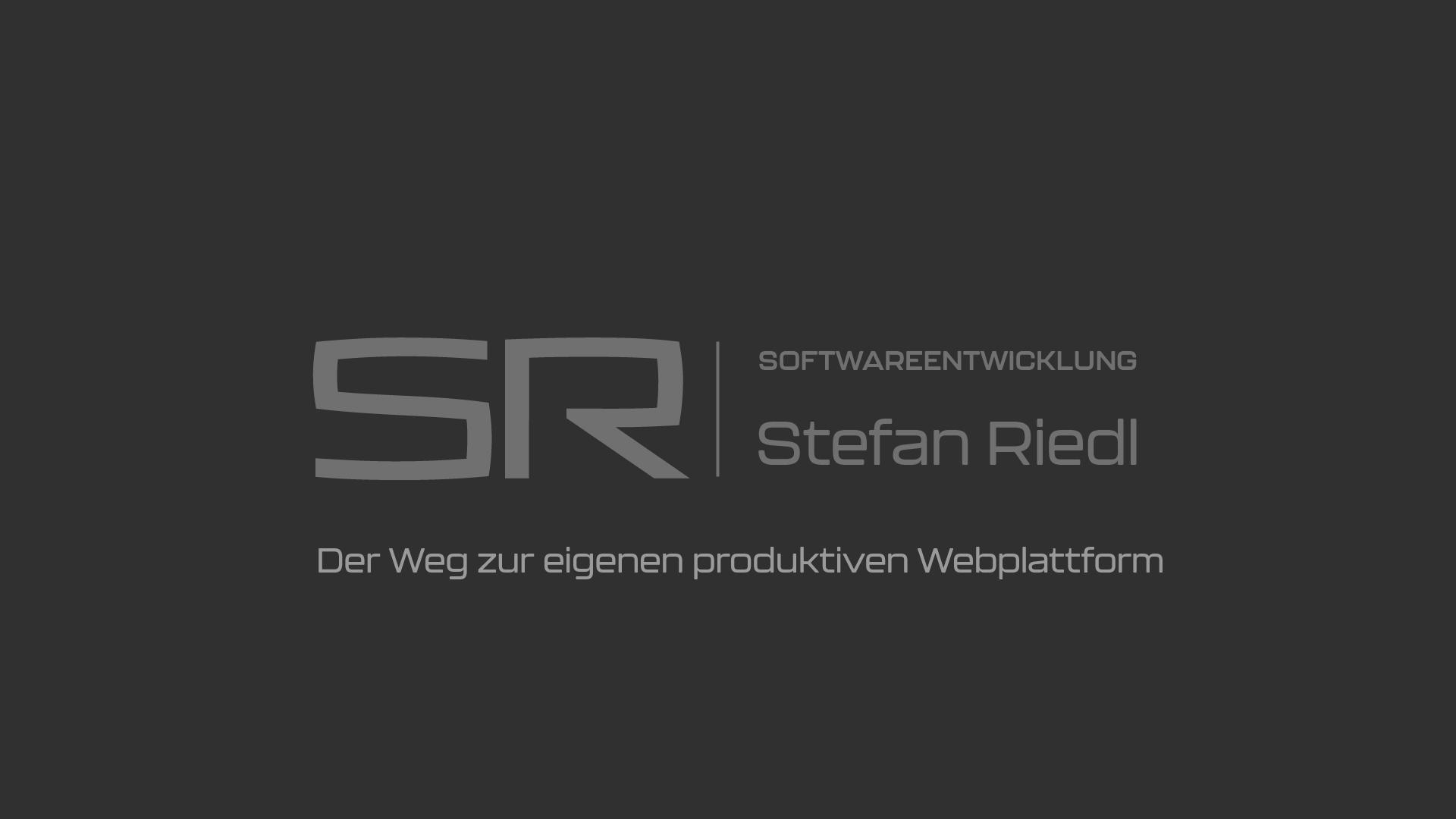 Banner - Der Weg zur eigenen produktiven Webplattform